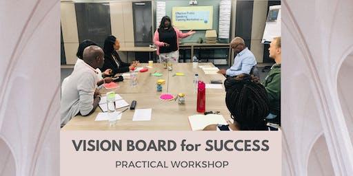 VISION BOARD for SUCCESS WORKSHOP