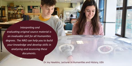 Introduction to Archive Research for Sixth Form Students tickets