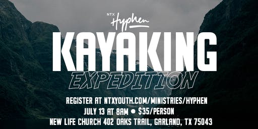 NTX Hyphen Kayaking Trip 2019