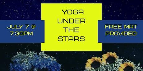 Yoga Under the Stars tickets