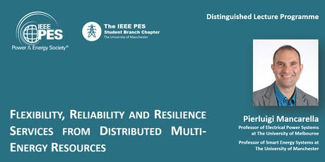 Flexibility, Reliability and Resilience Services from Distributed Multi-Energy Resources tickets