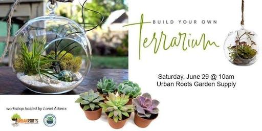Build Your Own Succulent Terrarium Workshop