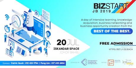 BIZSTART 2019 STOP#3 JOHOR BAHRU tickets