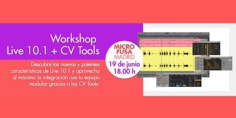 Demostración Ableton Live 10.1 - Microfusa Madrid tickets