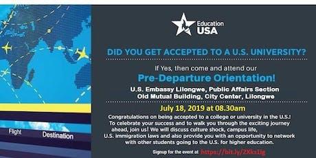 EducationUSA Pre-Departure Orientation tickets