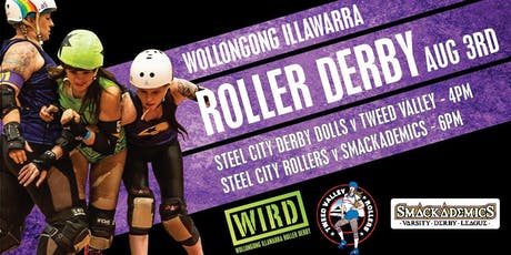 ROLLER DERBY: Steel City Derby Dolls vs Tweed Valley & Steel City Rollers vs Smackademics tickets