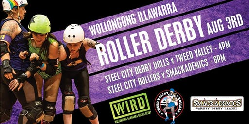 ROLLER DERBY: Steel City Derby Dolls vs Tweed Valley & Steel City Rollers vs Smackademics