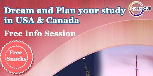 Info Session Study In USA and Canada