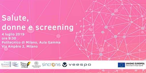 Salute, donne e screening