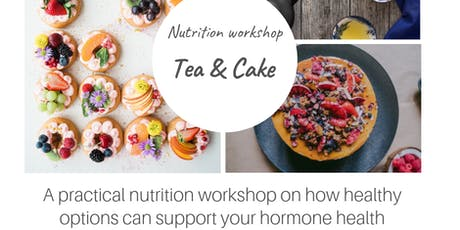 Peri-menopause: Hormone supporting tea and HRT cake  tickets