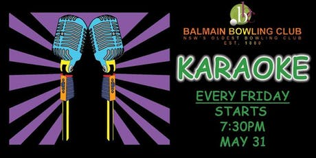 Karaoke and Disco Balmain Bowling Club tickets
