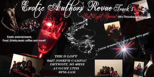 Erotic Authors' Revue Track 5: Red Light Special (90's throwback edition)