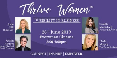 Thrive Women - Visibility In Business tickets