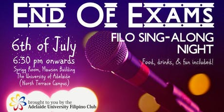 AUFC's End of Exams Sing-Along Night! tickets