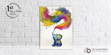 Sip & Paint Night : Baby Elephant tickets