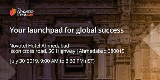 Payoneer Forum Ahmedabad: Your Launchpad for Global Success