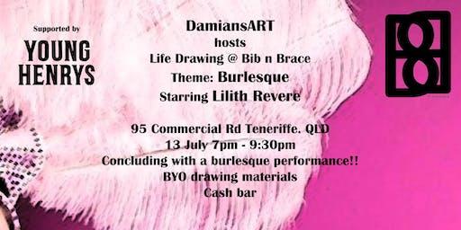 DamiansART Life Drawing @ Bib n Brace