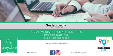 Social Media for Small Businesses tickets