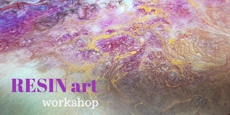 Resin Art Workshop Sunday 4th August tickets
