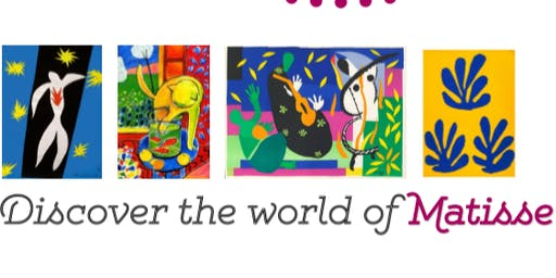 Art Workshop-in French!-for Children: Discover the world of the artist Matisse