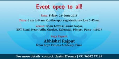 Akshaya Patra is Organizing Yogathon event in Pune tickets