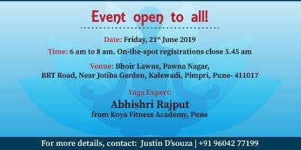 Akshaya Patra is Organizing Yogathon event in Pune