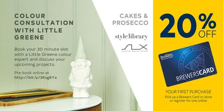 Little Greene Colour Consultations at Brewers Chichester tickets