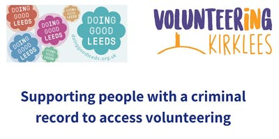 Support people with a criminal record into volunteering