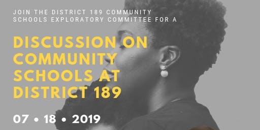 Discussion on Community Schools at District 189