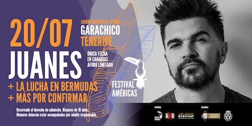 Juanes: Festival Américas en Garachico