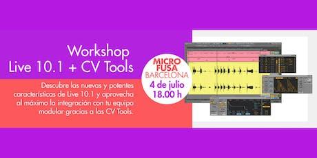 Demostración Ableton Live 10.1 - Microfusa Barcelona entradas