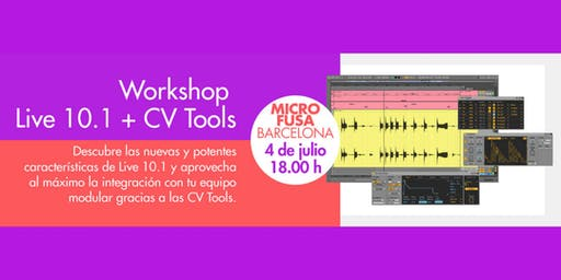Demostración Ableton Live 10.1 - Microfusa Barcelona