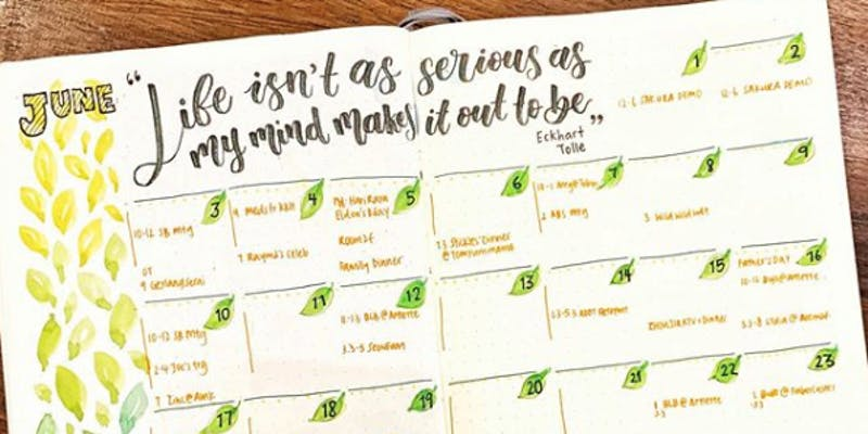 Workshop – Getting Started with Bullet Journal® by Stephtcreates I