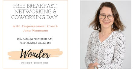 "Breakfast, Networking & Coworking Day ""Listen to your heart"" Tickets"