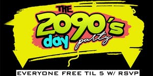 2090's The Official FREAKNIK Rooftop Day Party! The...