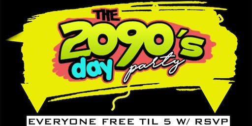 2090's The Official FREAKNIK Rooftop Day Party! The best of the 90's & 2000's! Saturday @ CAFE CIRCA! GOOD ROOFTOP VYBZE ONLY! RSVP NOW! (SWIRL)