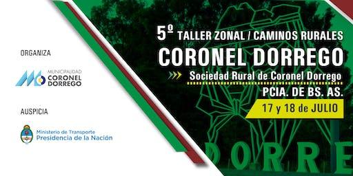 5° TALLER ZONAL DE CAMINOS Y TRANSPORTE Y CAMINOS RURALES