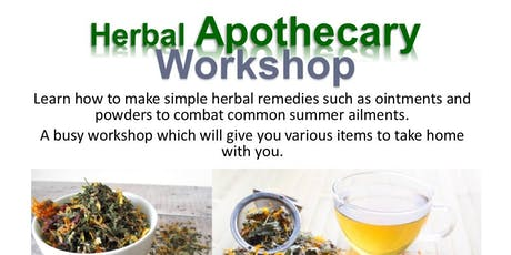 Herbal Apothecary Workshop tickets
