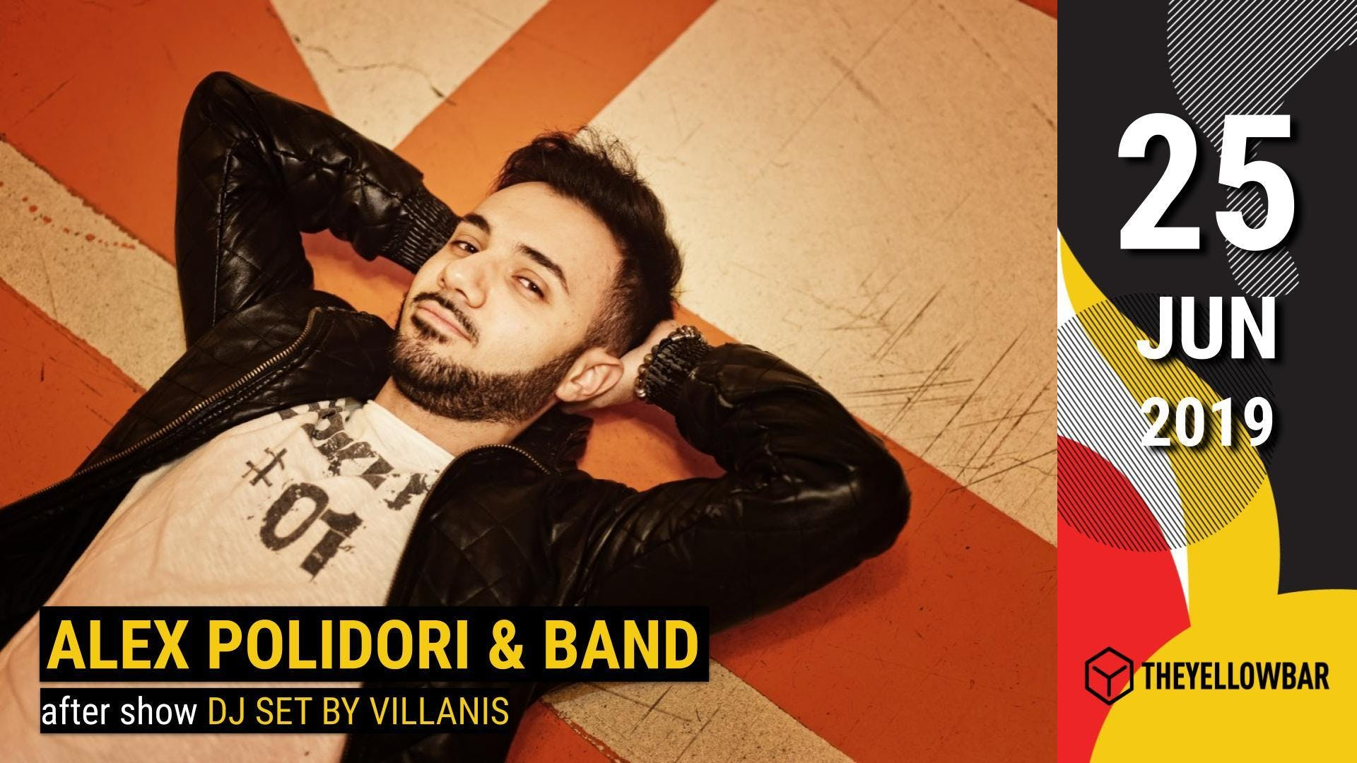 Alex Polidori & Band - The Yellow Bar