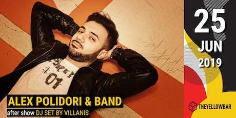 Alex Polidori & Band - The Yellow Bar biglietti