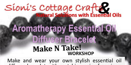 Make n Take WORKSHOP-Aromatherapy Diffuser Bracelet n Earrings tickets