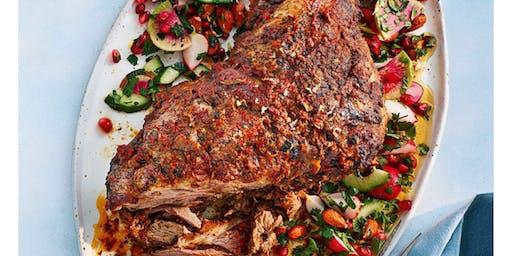 Slow roasted Cornish lamb shoulder