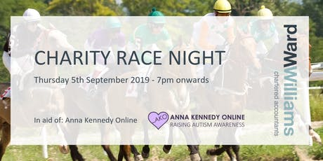 Ward Williams Charity Race Night tickets