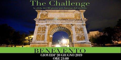 THE CHALLENGE BENEVENTO biglietti