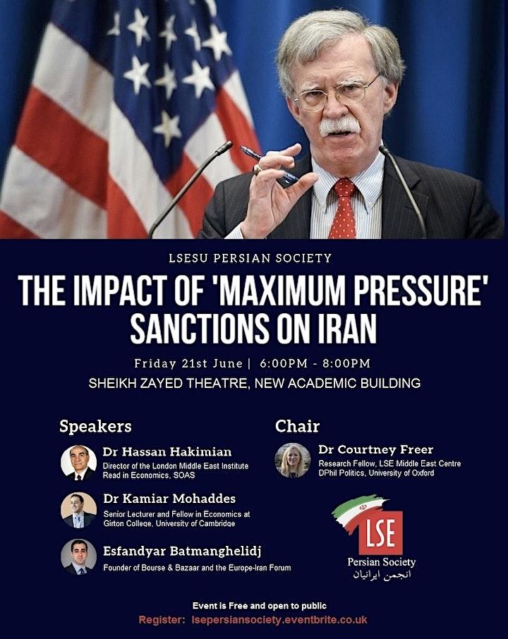 The Impact of 'Maximum Pressure' Sanctions on Iran image