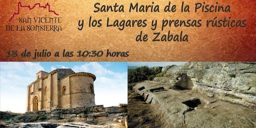 Visita especial a Santa María de la Piscina y al conjunto de Zabala