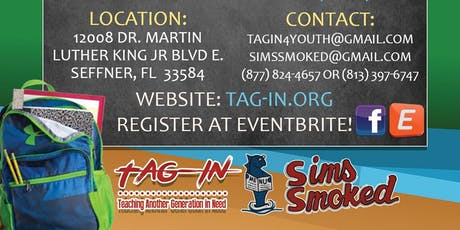 TAGIN, INC & Sims Smoked Back To School 2019 Bash tickets