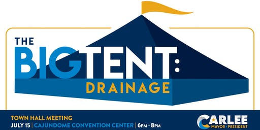 The Big Tent: Drainage