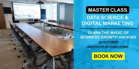 Data Science & Digital Marketing: Business Growth Master Class | Morning tickets