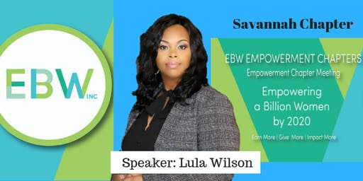 EBW2020 Savannah Chapter-Empowerment Meeting